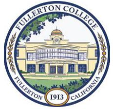 Seal of Fullerton College - Color Image